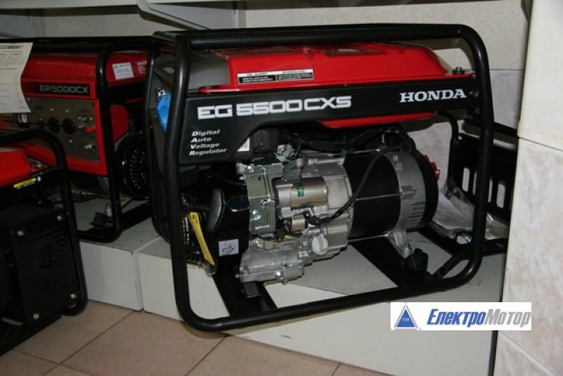 бензиновые генератор honda 5500t/m